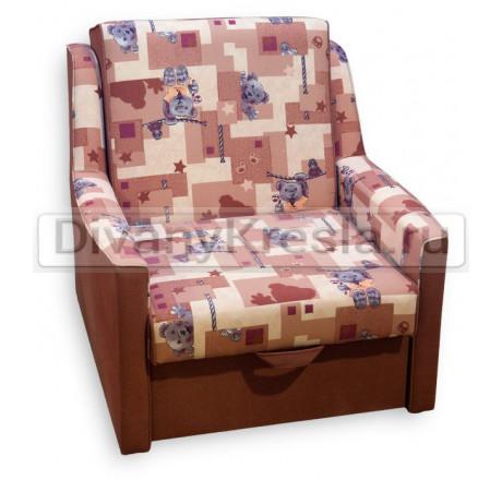 Кресло кровать Классик марон детский