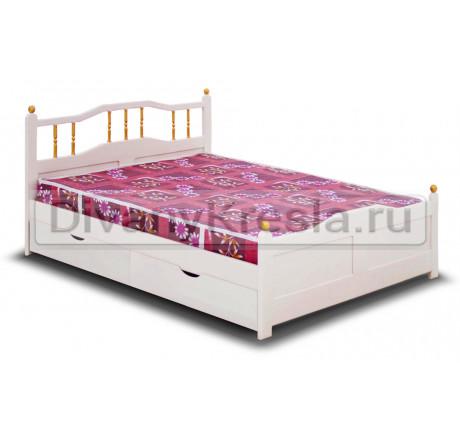 Кровать Наташа Эмаль
