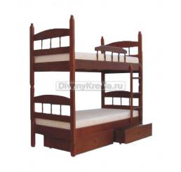 Двухъярусная разборная кровать Кузька-2